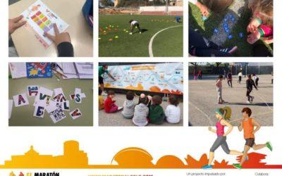 10.000 escolares de 32 colegios mantienen vivo el proyecto educativo 'El Maratón al Cole' con las medidas de seguridad y sanidad necesarias