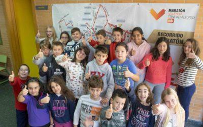 Más de 10.200 escolares de 30 colegios se suman en 2018 al proyecto educativo 'El Maratón al Cole'