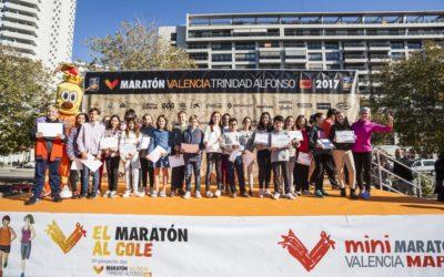 Las fotografías de la entrega de premios de El Maratón al Cole 2017